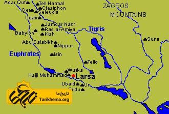 عکس Image result for Larsa ancient %d9%84%d8%a7%d8%b1%d8%b3%d8%a7-larsa Tarikhema.org