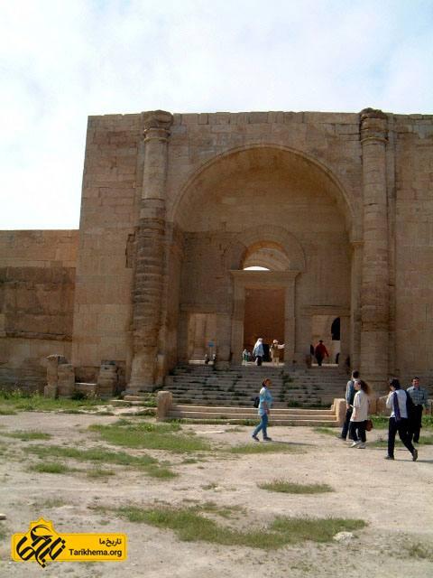 عکس طرحی از یک ایوان متعلق به ۵۰ میلادی در شهر هترا عراق %d8%af%db%8c%d9%86-%d8%a7%d8%b4%da%a9%d8%a7%d9%86%db%8c%d8%a7%d9%86 Tarikhema.org