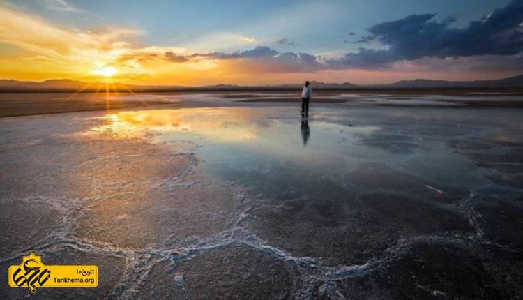 دریاچه نمک حوض سلطان قمدریاچه نمک حوض سلطان قم