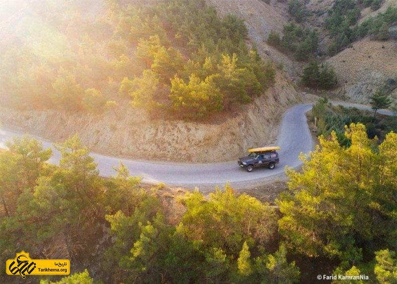جاده دریاچه ولشت