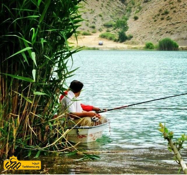 ماهیگیری در دریاچه ولشت
