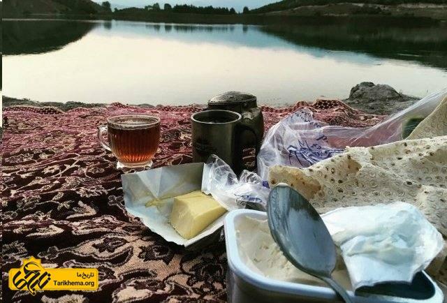 پیک نیک در دریاچه ولشت