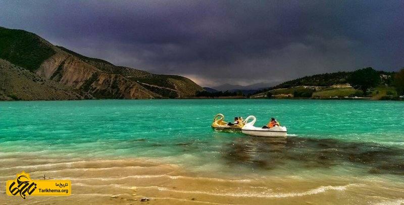 طبیعت چشم نواز دریاچه ولشت