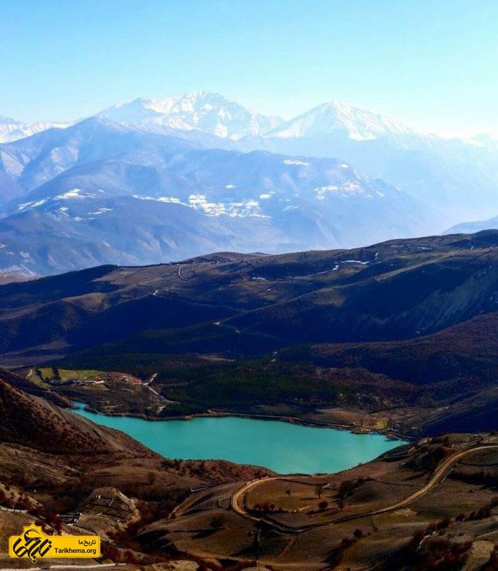 مسیر زیبای دریاچه ولشت