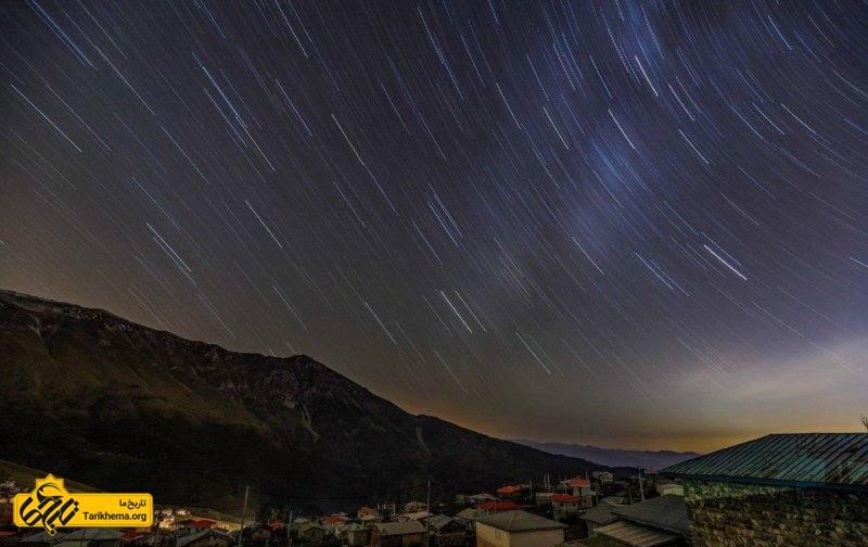 آسمان شب جواهردشت رودسر