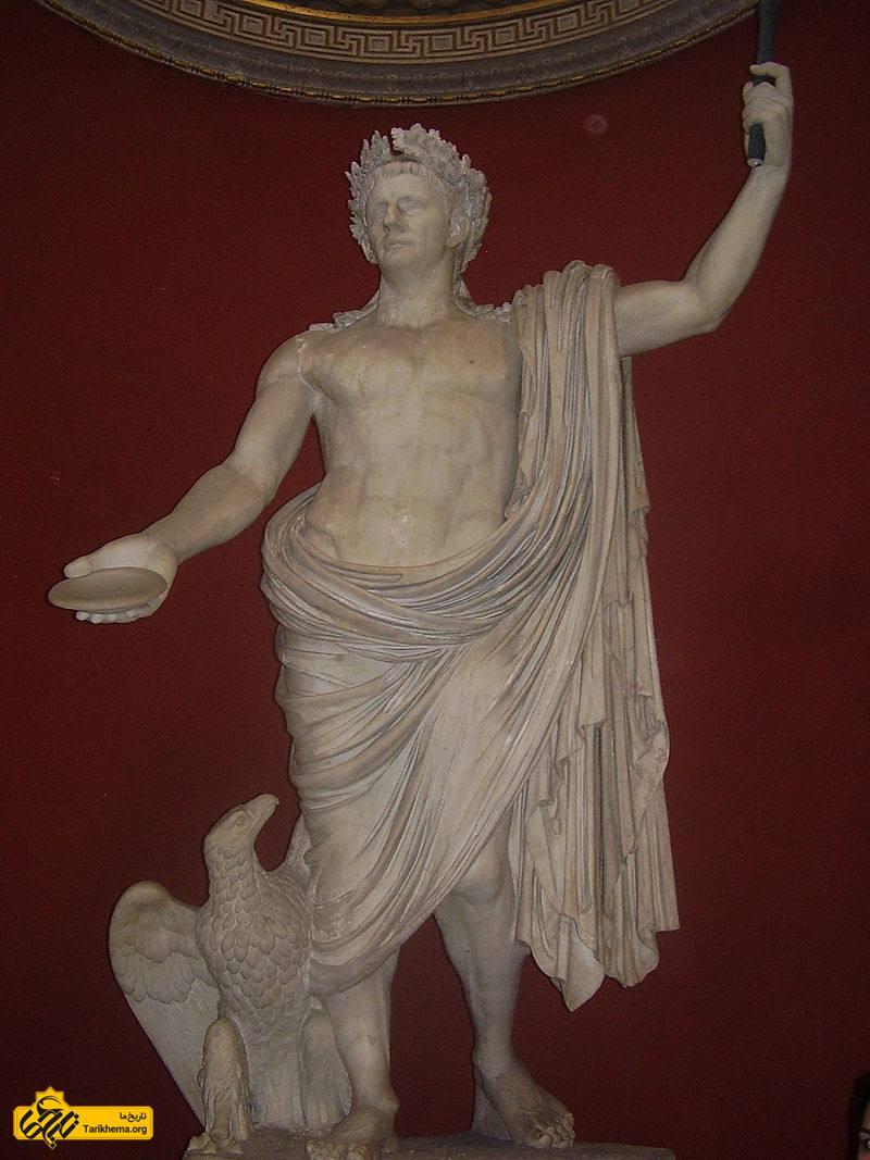 عکس کلادیوس به عنوان ژوپیتر خدای رومیان به تصویر کشیده شدهاست، موزه واتیکان. %d8%b9%d9%88%d8%a7%d9%85%d9%84-%d9%85%d9%88%d8%ab%d8%b1-%d8%af%d8%b1-%d8%aa%d8%ac%d8%b2%db%8c%d9%87-%d8%a7%d9%85%d9%be%d8%b1%d8%a7%d8%b7%d9%88%d8%b1%db%8c-%d8%b1%d9%85-%d9%88-%d8%b4%da%a9%d9%84 Tarikhema.org