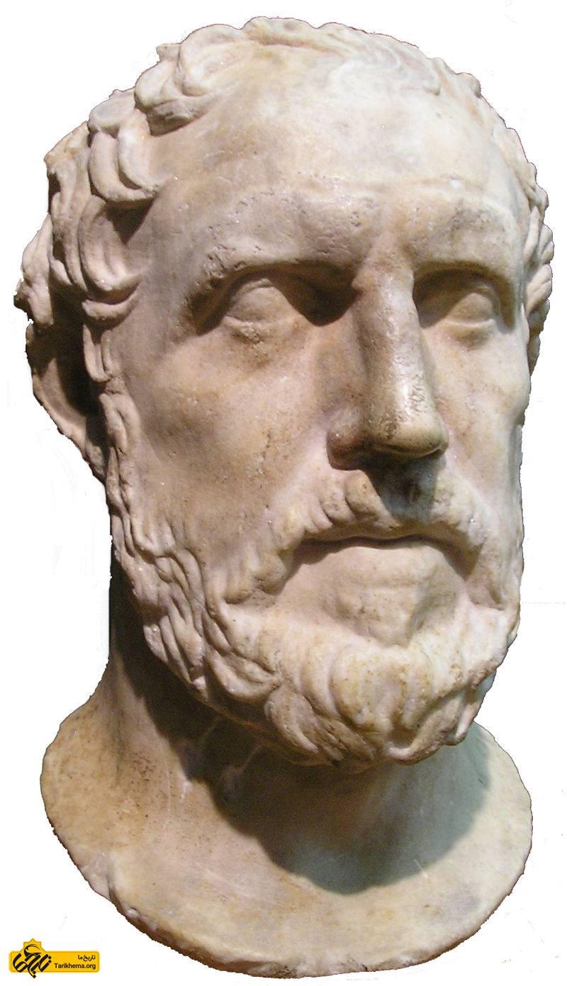 عکس (۴۶۰ ق.م. - ۳۹۵ ق.م.) (به یونانی: Θουκυδίδης, Thoukydídēs) تاریخنگار یونانی و نویسندهٔ تاریخ جنگ پلوپونزی بود که به شرح وقایع جنگ پلوپونز بین آتن و اسپارت که از ۴۳۱ (پیش از میلاد) آغاز و با یک وقفهٔ چند ساله تا ۴۰۴ (پیش از میلاد) ادامه داشت میپردازد، هر چند که نوشتههای وی در سال 411 ق.م. %d9%81%d8%aa%d8%ad-%d8%a2%d8%aa%d9%86-%d8%af%d8%b1-%d8%b2%d9%85%d8%a7%d9%86-%d8%ae%d8%b4%d8%a7%db%8c%d8%a7%d8%b1%d8%b4%d8%a7 Tarikhema.org