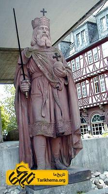 عکس تندیس شارلمانی در شهر فرانکفورت در کشور آلمان %d8%b3%d9%84%d8%b3%d9%84%d9%87-%da%a9%d8%a7%d8%b1%d9%84%d9%88-%d9%88%d9%86%da%98%db%8c%d9%86 Tarikhema.org