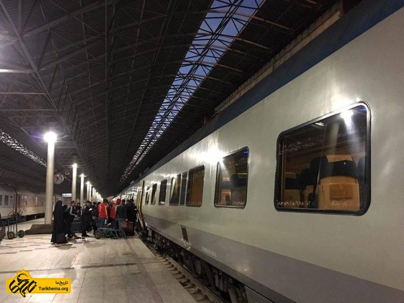 سفر به مشهد با قطار
