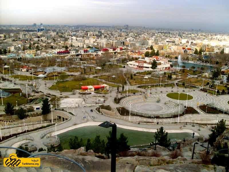 دیدنیهای مشهد پارک کوهسنگی