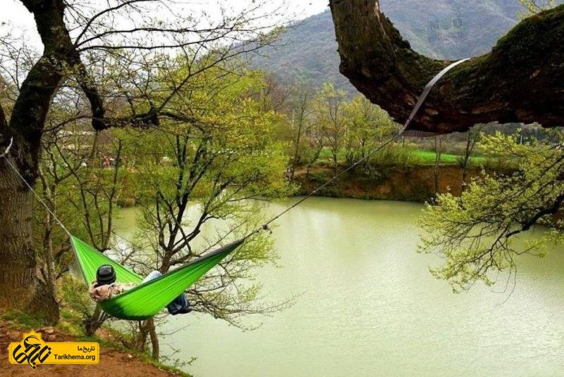گشت و گذار و عکاسی از طبیعت فوق العاده در چشمه گل رامیان