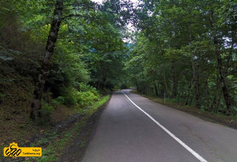 تماشای جاده زیبای گیلوان