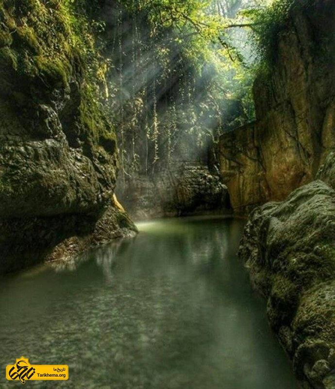 طبیعت زیبای تنگه دار نوشهر
