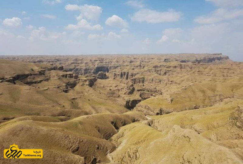 دره کول خرسان از نمای بالا