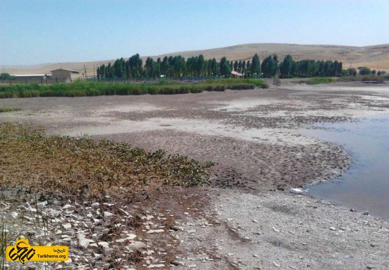 خشکسالیهای طولانی دریاچه