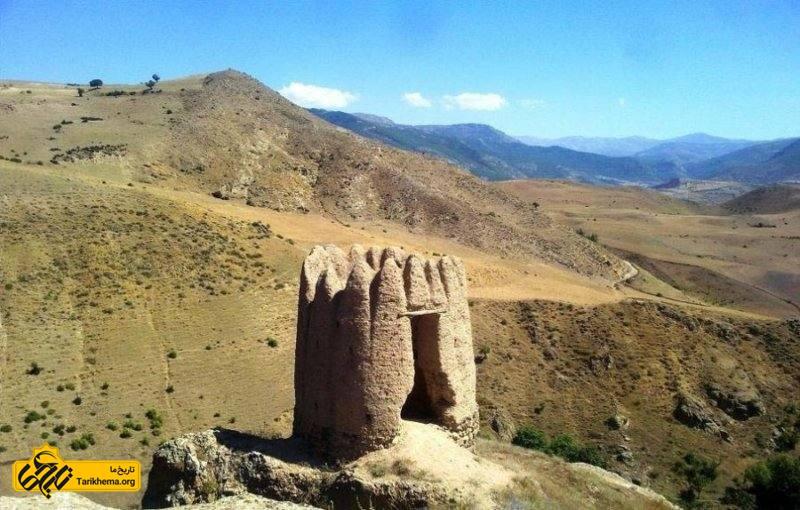 قلعه ای در منطقه ی دیلمان