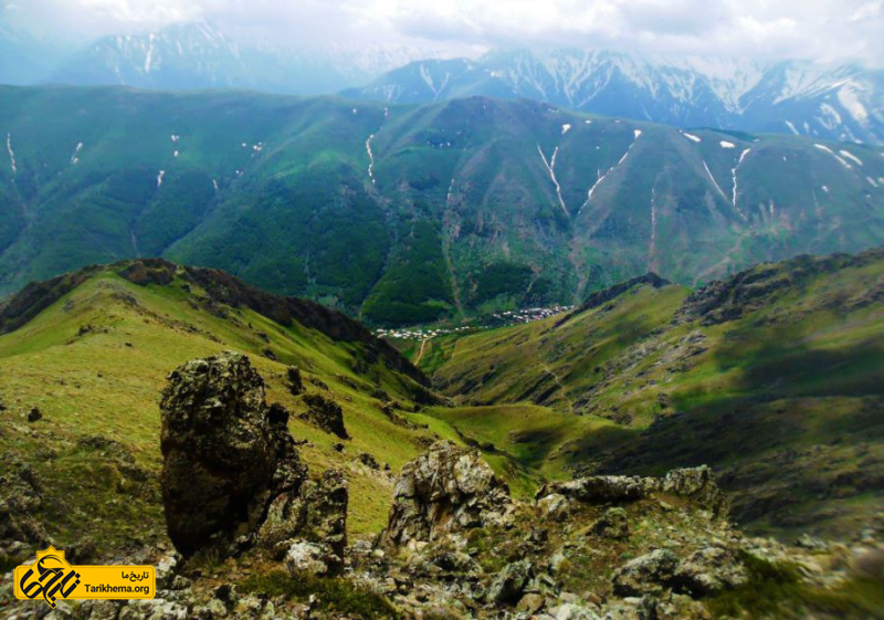 طبیعت بی نظیر روستای ناتر