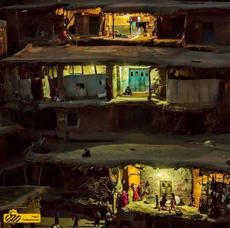 معماری خانه های روستا
