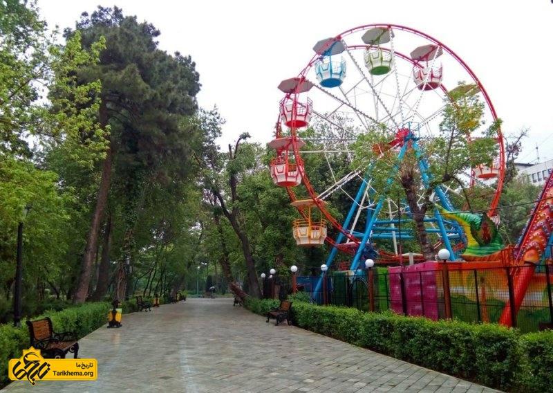 فضای بازی کودکان در پارک شهر