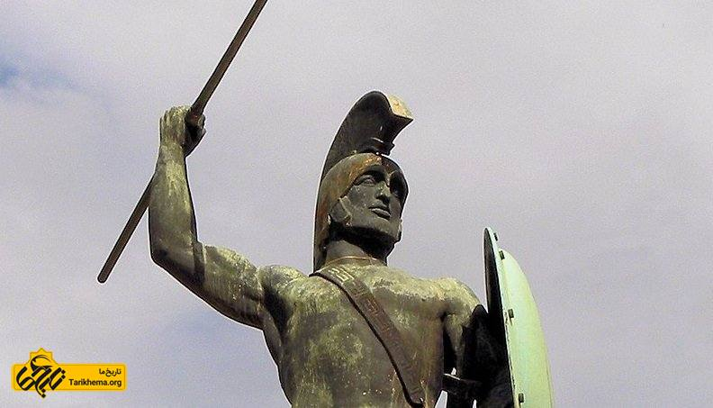 مجسمه لئونیداس پادشاه اسپارتان
