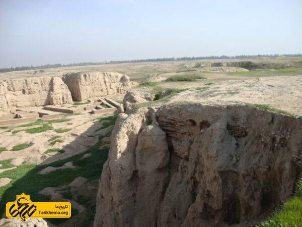 گستردگی محوطه شهر باستانی شوش و عموق زیر خاک رفتن این شهر هفت هزار ساله