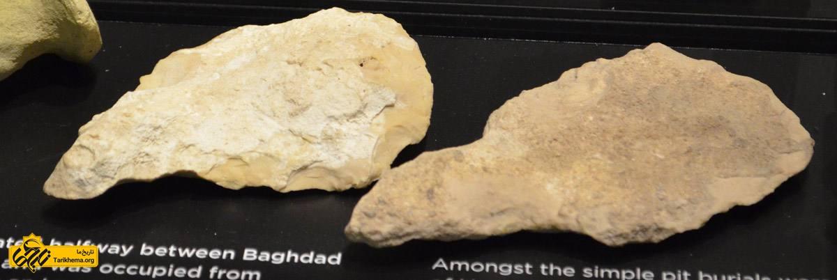 عکس قطعات سفالی ابزار کشاورزی و تیغه تبر- فرهنگ عبید 6500 تا 3800 پیش از میلاد- کشف شده در اور- موزه باستان شناسی دانشگاه سیدنی %d8%aa%d9%85%d8%af%d9%86-%d8%a8%d8%a8%db%8c%d9%86-%d8%a7%d9%84%d9%86%d9%87%d8%b1%db%8c%d9%86 Tarikhema.org
