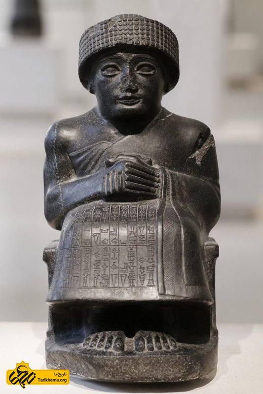 گودئا (Gudea) (فرمانروایی ۲۱۴۴-۲۱۲۴ (پیش از میلاد)) یکی از فرمانروایان میانرودان جنوبی بود.