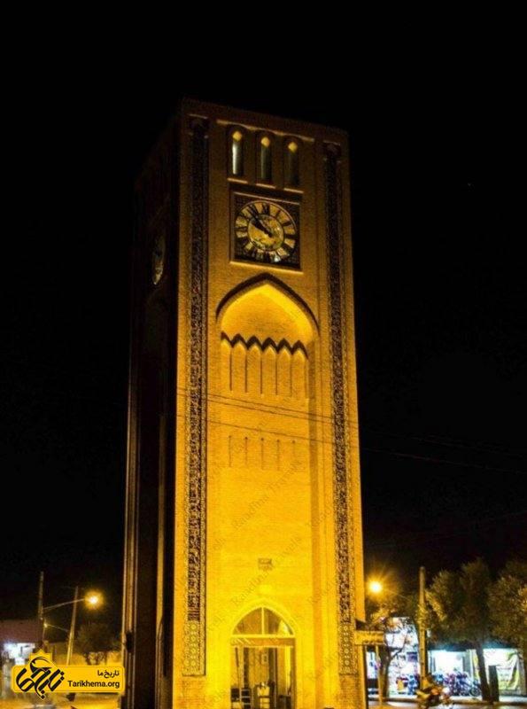 مکان های دیدنی یزد در شب