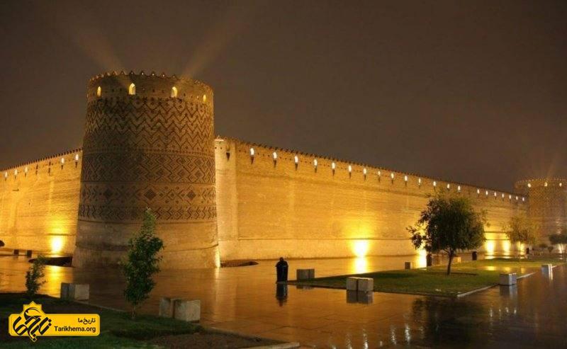 تصویر زیبا از ارگ کریم خان شیراز