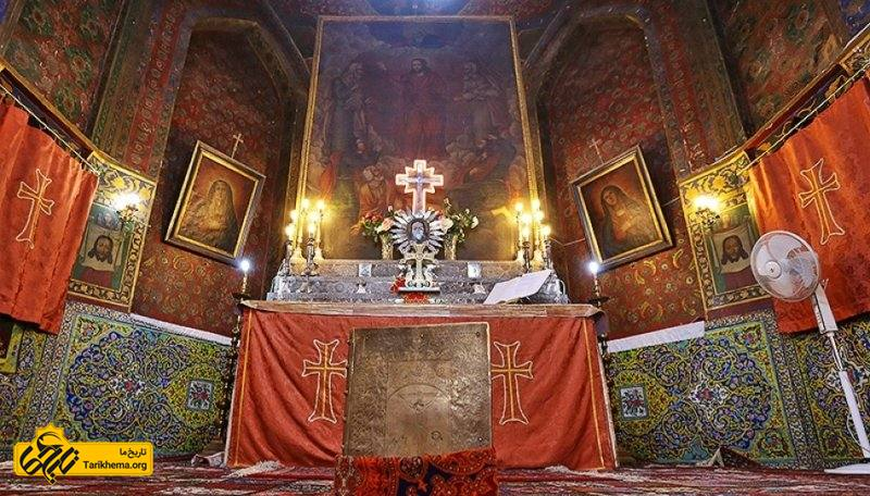 کلیسای میناس مقدس مربوط به دوره صفوی است و در اصفهان، جلفا، محله تبریزیها، کوچه تبریزیها واقع شده