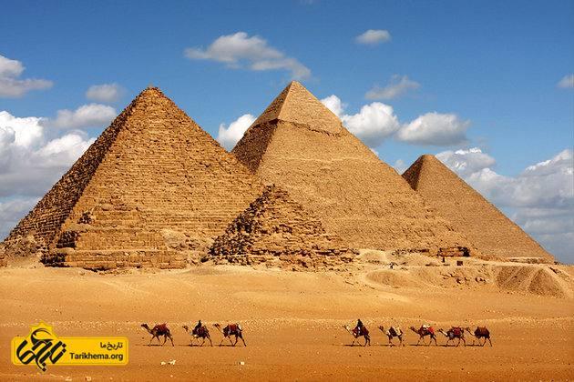 تصویر اهرام ثلاثه مصر