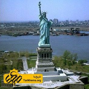 تصویر تندیس آزادی آمریکا