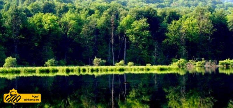 تصویر دریاچه چورت یا میانشه مازندران