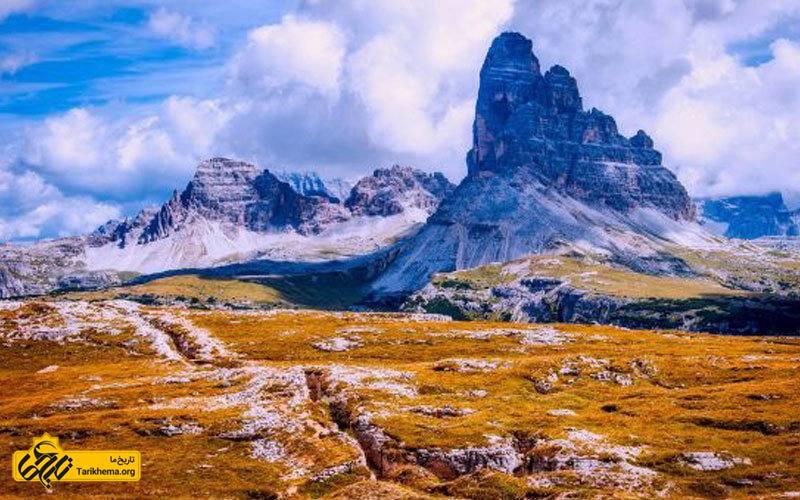 دولومیت در شمال شرق ایتالیا