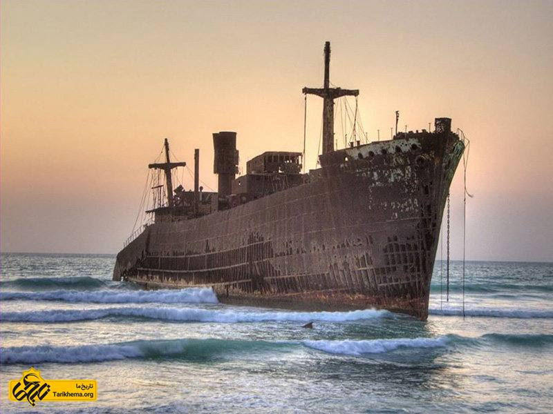تصویر کشتی یونانی کیش