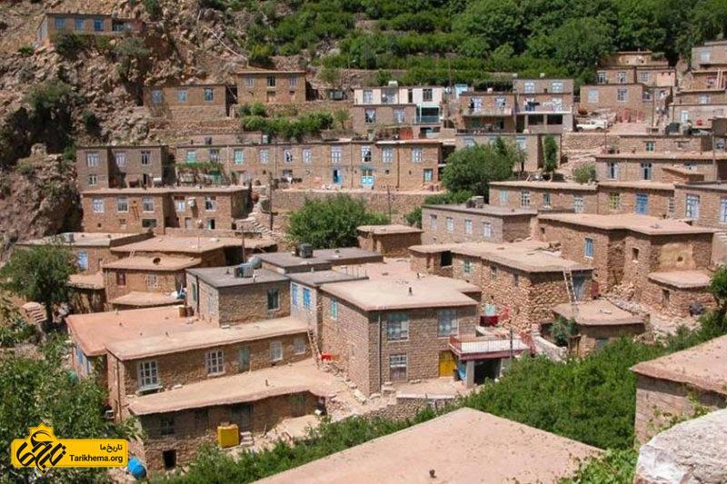 ساختار خانه های روستا