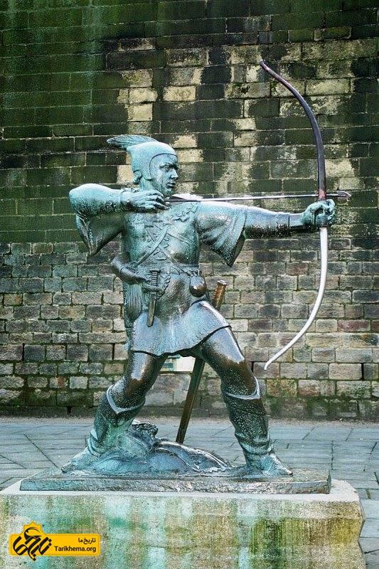 مجسمه رابینهود، ناتینگهام
