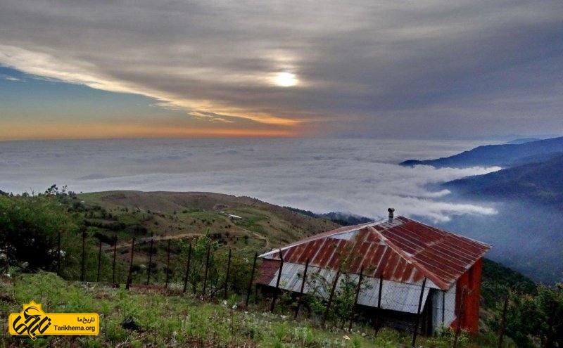 طبیعت روستا در صبح