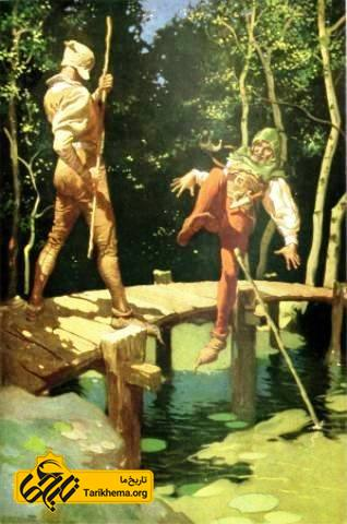 نقاشی از رابینهود توسط فرانک گودوین