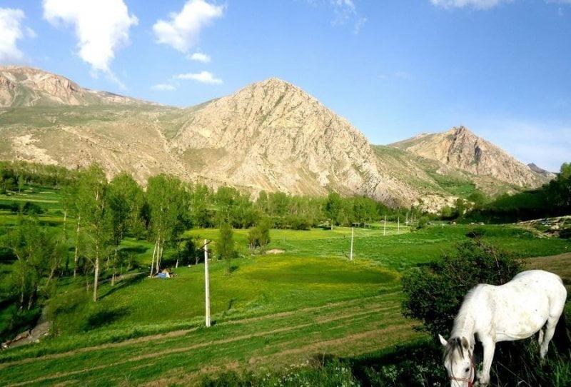 طبیعت زیبای روستای زنوزق