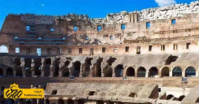 معماری بناهای رومی