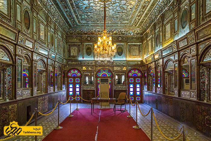 عمارت بادگیر کاخ گلستان