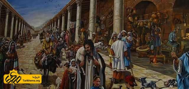 اولین مرکز خرید روم باستان