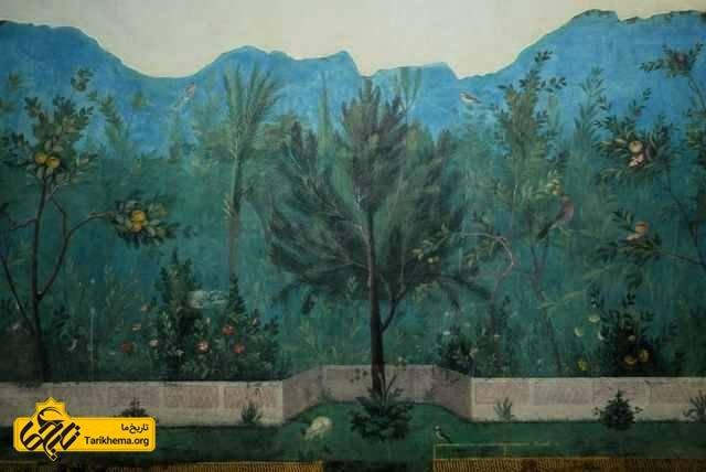 نقاشی های دیواری خانه لیویا