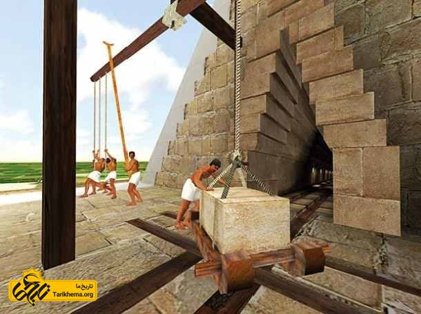 کارگران اهرام مصر