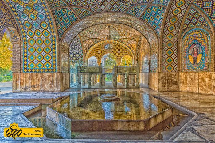 خلوت کریم خان زند در کاخ گلستان