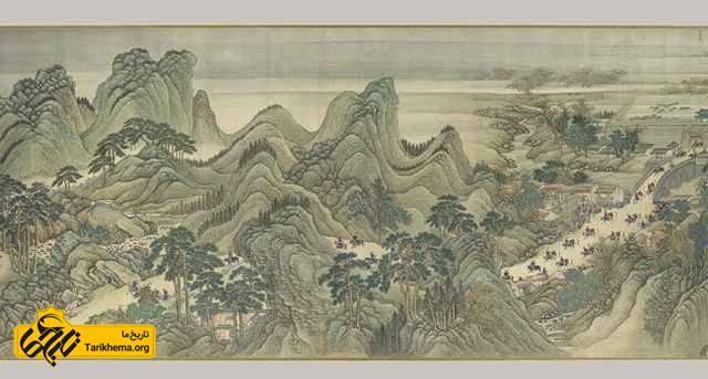 نقاشی چین باستان