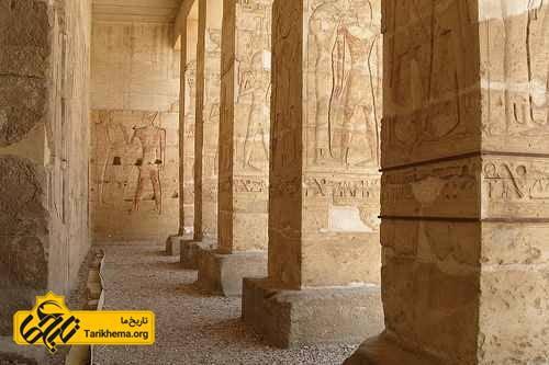 معبد آبیدوس مصر