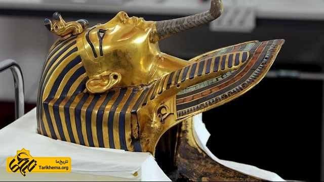 نقاب مومیایی توتانخامون