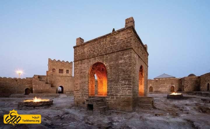 جاهای دیدنی باکو - معبد آتشگاه